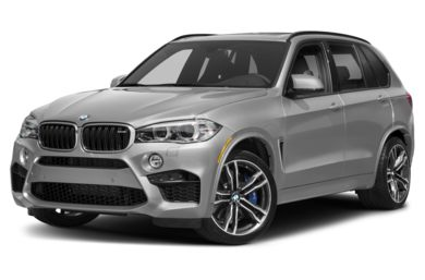 3/4 Front Glamour 2018 BMW X5 M