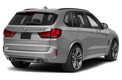 3/4 Rear Glamour  2018 BMW X5 M