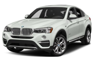 3/4 Front Glamour 2018 BMW X4