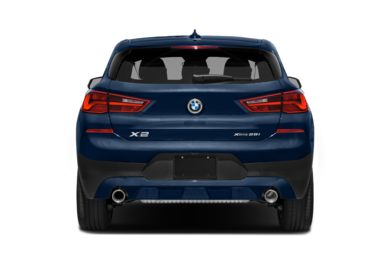 Rear Profile  2018 BMW X2