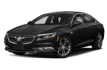 3/4 Front Glamour 2020 Buick Regal