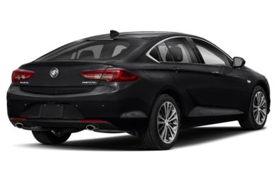 3/4 Rear Glamour  2018 Buick Regal