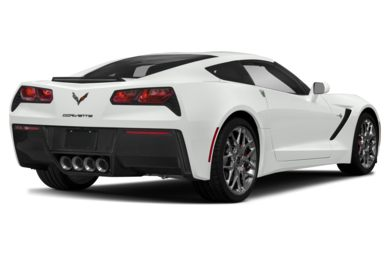 3/4 Rear Glamour  2019 Chevrolet Corvette
