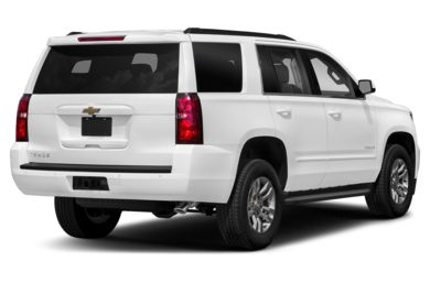 3/4 Rear Glamour  2018 Chevrolet Tahoe