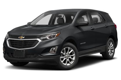3/4 Front Glamour 2021 Chevrolet Equinox