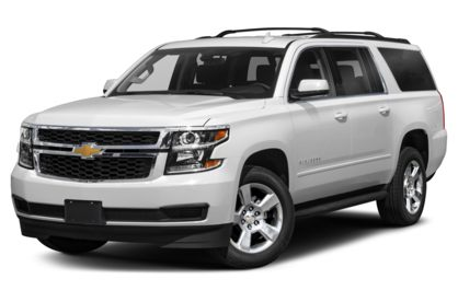 3/4 Front Glamour 2020 Chevrolet Suburban