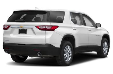 3/4 Rear Glamour  2019 Chevrolet Traverse