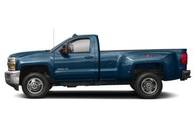 90 Degree Profile 2017 Chevrolet Silverado 3500hd