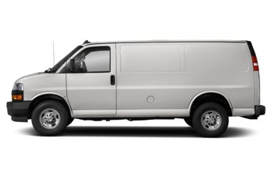 90 Degree Profile 2018 Chevrolet Express 2500