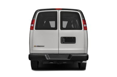 Rear Profile  2018 Chevrolet Express 2500