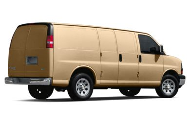 3/4 Rear Glamour  2019 Chevrolet Express 3500