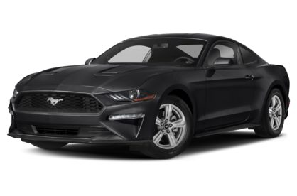 3/4 Front Glamour 2020 Ford Mustang