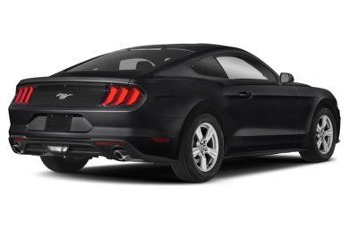 3/4 Rear Glamour  2019 Ford Mustang