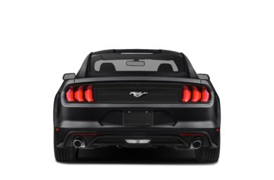 Rear Profile  2019 Ford Mustang