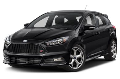 3/4 Front Glamour 2018 Ford Focus ST