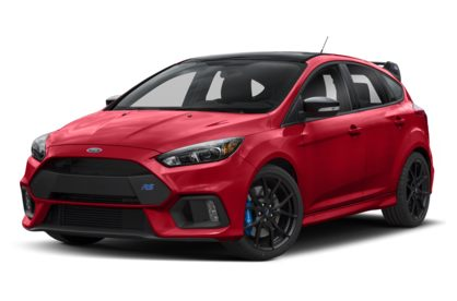 3/4 Front Glamour 2018 Ford Focus RS