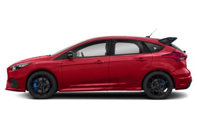 90 Degree Profile 2018 Ford Focus RS