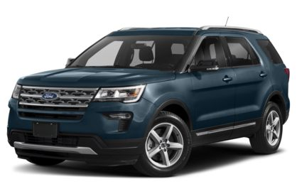 3/4 Front Glamour 2019 Ford Explorer