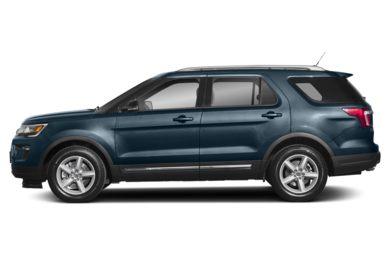 90 Degree Profile 2018 Ford Explorer