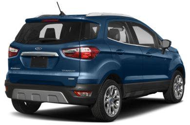 3/4 Rear Glamour  2018 Ford EcoSport