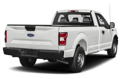 3/4 Rear Glamour  2018 Ford F-150