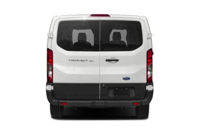 Rear Profile  2019 Ford Transit-150