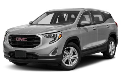 3/4 Front Glamour 2021 GMC Terrain