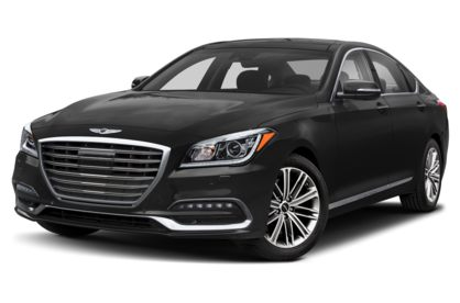 3/4 Front Glamour 2020 Genesis G80