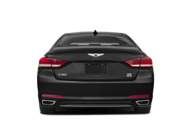 Rear Profile  2018 Genesis G80