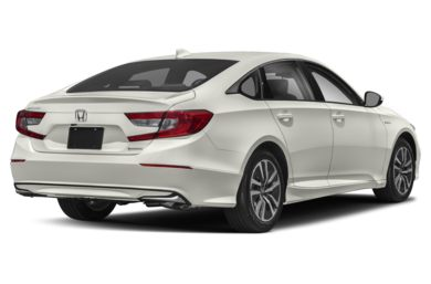 3/4 Rear Glamour  2018 Honda Accord Hybrid