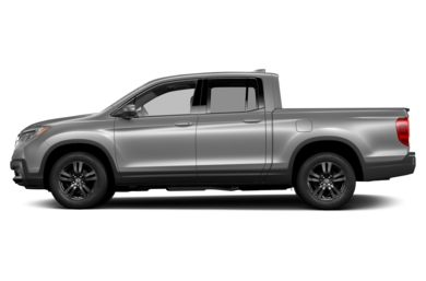 90 Degree Profile 2018 Honda Ridgeline