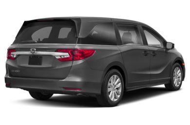 3 4 Rear Glamour 2018 Honda Odyssey