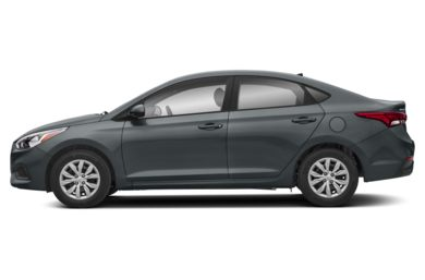 90 Degree Profile 2018 Hyundai Accent