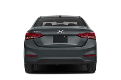 Rear Profile  2018 Hyundai Accent