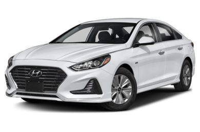 3 4 Front Glamour 2019 Hyundai Sonata Hybrid