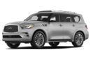 3/4 Front Glamour 2018 INFINITI QX80