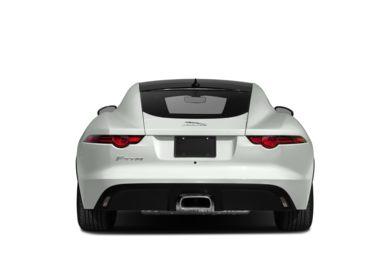 Rear Profile  2018 Jaguar F-TYPE