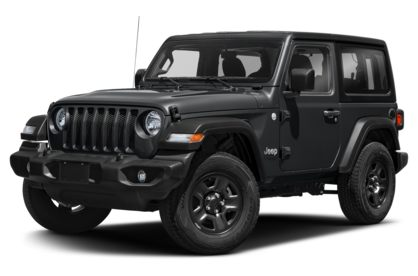 3/4 Front Glamour 2021 Jeep Wrangler