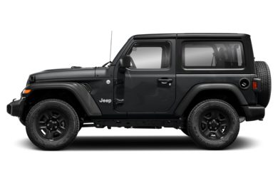 90 Degree Profile 2018 Jeep All-New Wrangler