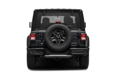 Rear Profile  2018 Jeep All-New Wrangler