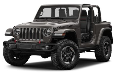 3/4 Front Glamour 2018 Jeep All-New Wrangler