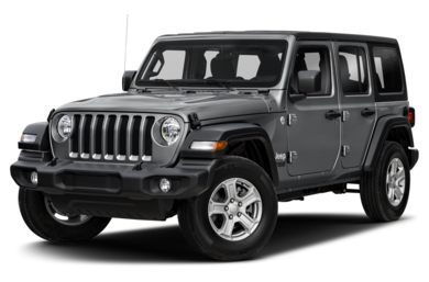 3/4 Front Glamour 2018 Jeep All-New Wrangler Unlimited