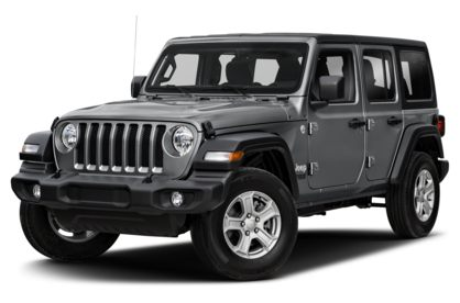 3/4 Front Glamour 2021 Jeep Wrangler Unlimited