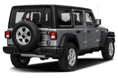 3/4 Rear Glamour  2018 Jeep All-New Wrangler Unlimited
