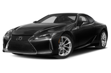 3/4 Front Glamour 2018 Lexus LC