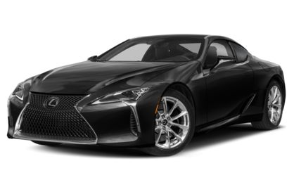 3/4 Front Glamour 2021 Lexus LC