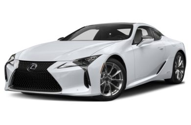 3/4 Front Glamour 2018 Lexus LC 500h