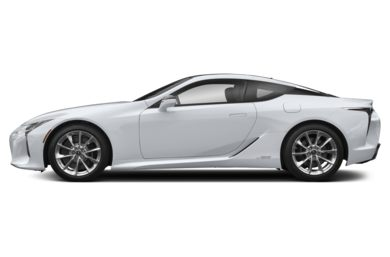 90 Degree Profile 2019 Lexus LC