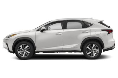 90 Degree Profile 2018 Lexus NX