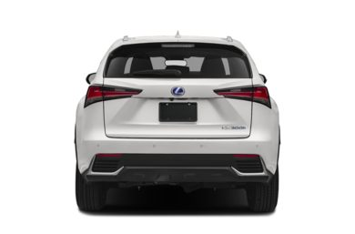 Rear Profile  2018 Lexus NX